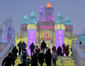 Harbin International Festival of ice sculpture