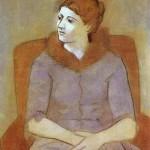 Madame Olga Picasso. 1923