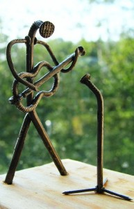 Metal junk sculptures by Andrey K