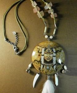 Russian artist jeweler Elena Kulemzina