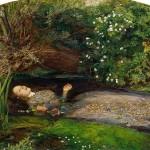 Symbolic Death of Ophelia by Sir John Everett Millais