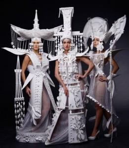 Paper fashion by Asya Kozina