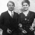 Rome, 1917. Olga Khokhlova