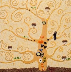 Gustav Klimt's 'The tree of life' 1905-1909