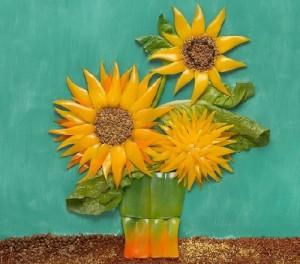 'Sunflowers' of pepper