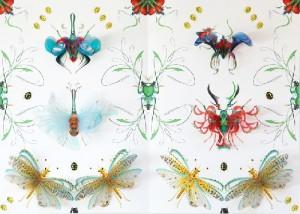 paper illustrations by Bozka Rydlewska