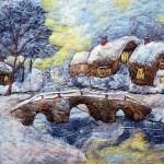 Christmas huts