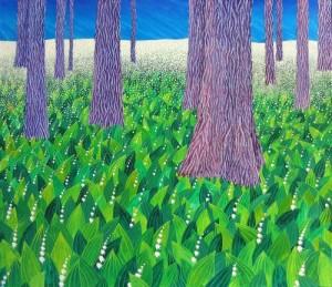 Painting by Ukrainian artist Olga Kvasha