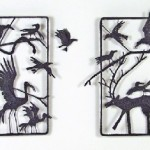 Night Crows Diptych