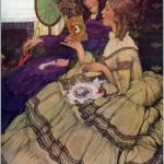 Anna Whelan Betts (1873–1959). Reading lady