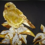 Straw art by Russian artist Irina Porosova