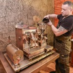 Dmitry Tikhonenko Steampunk coffee machine