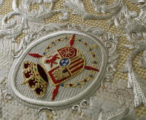 The Splendor Of The Spanish Religious Embroidery 8 Art Kaleidoscope