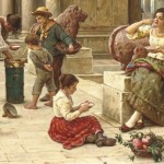 Venetian carnival paintings by Jean Claude Campana
