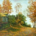 Landscape painter Dmitry Levin