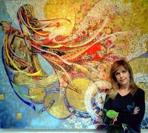 Brazilian artist Sandra Regina de Paula Freitas