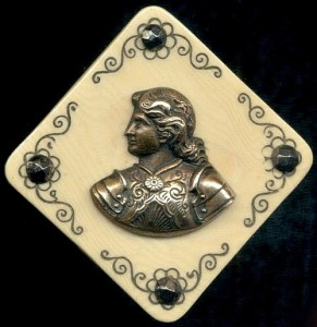 Exquisite Button miniature art