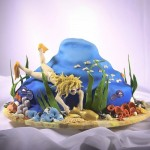 Cake for a diver. Work by St. Petersburg based food artist Vladimir Sizov