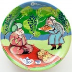 Folk stories. Decorative plate