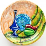 Still life. Decorative plate