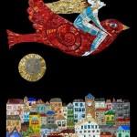Mosaic painting by Irina Charny