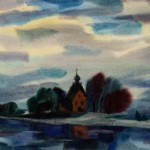 Painting by Vikentiy Rozhko