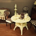 Furniture made of chocolate