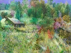 June. Painting by Vikentiy Rozhko