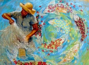 Patchwork art by Sandra Freitas