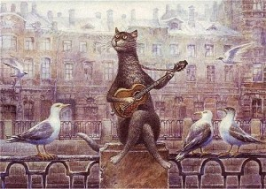 Petersburg romance