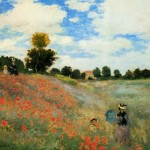 Poppy Field in Argenteuil 1873