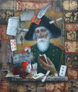 Painting by Yuri Krasavin-Belopolsky