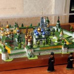 Russian folk wooden toys