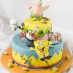 Sponge Bob and cheerful company. Artful Bakery cakes by St. Petersburg based food artist Vladimir Sizov