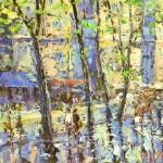 impressionist painter Evgeny Gavli