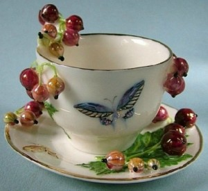 Realistic Porcelain berries, art by Svetlana Oreshkina