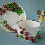 Black currants Porcelain by Svetlana Oreshkin