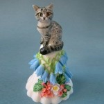 Cute kitten. Porcelain by Svetlana Oreshkina