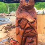 Ryan Cook chainsaw sculpting
