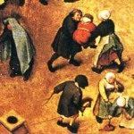 1560 painting Children's-games, detail