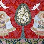 Beautiful decorative painting by Marina Polyakova