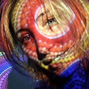 Beautiful artist Elspeth McLean
