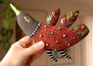 Beautiful hand made bird