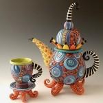 Ceramic artist Natalya Sots