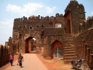 Old fortress in Bidar, India