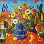 painting by Marina Polyakova