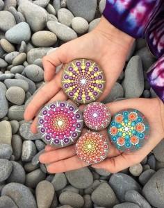 Awesome mandala stones