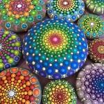 Amazing mandala stones