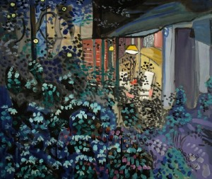 Avant-garde painting by Yuri Kossagovsky
