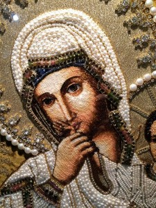 Detail of Smolensk icon
